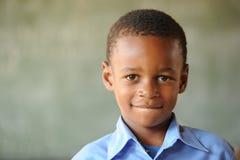 африканская школа детей Стоковое Изображение