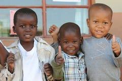 африканская школа детей Стоковые Изображения