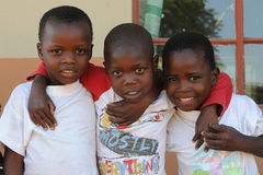 африканская школа детей Стоковое Изображение RF