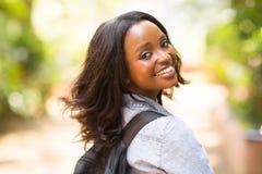 Африканская школа студента стоковая фотография rf