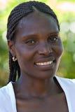 африканская девушка Стоковое Изображение