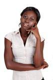 африканская amercian коммерсантка Стоковое Изображение