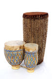 африканские барабанчики бонго Стоковая Фотография RF