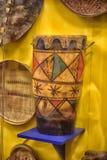 африканские барабанчики Стоковые Фотографии RF