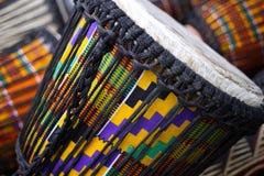 африканские барабанчики Стоковое Изображение