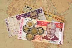 африканские деньги Стоковая Фотография