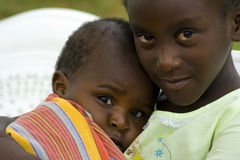 Африканские дети Стоковое Фото