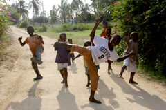 африканские дети стоковая фотография rf