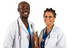 африканские доктора стоковые фото