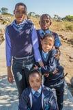 Африканские девушки детей Стоковое Изображение RF