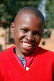 Африканские дети страдая от вируса СПИДА в деревне Pom Стоковая Фотография RF