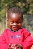Африканские дети страдая от вируса СПИДА в деревне Pom Стоковое Фото
