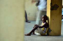 Африканские дети Стоковые Изображения