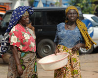 Африканские женщины Стоковые Фото