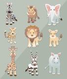 африканские животные Стоковое Изображение