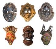 африканские маски Стоковая Фотография RF