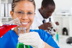 африканские научные работники стоковые фото