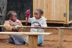Африканские начальной школы Стоковое Фото