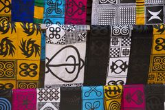 Африканские одежды моды стоковое изображение rf