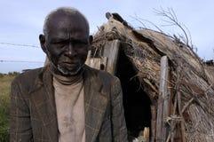 африканские пожилые люди Стоковое Фото