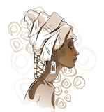 Африканские портреты женщины Стоковые Фотографии RF