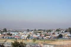 африканские посёлки Стоковое Изображение RF