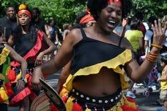африканские танцоры Стоковая Фотография