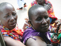 Африканские торговцы Стоковая Фотография