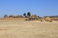 африканские хаты Стоковая Фотография RF