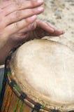 африканский барабанчик Стоковые Фотографии RF