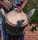 африканский барабанщик Стоковые Изображения