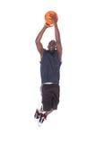 Африканский баскетболист Стоковое Изображение