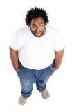 африканский избыточный вес человека Стоковое Фото
