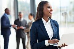 Африканский корпоративный работник Стоковая Фотография