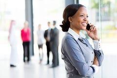 Африканский корпоративный работник Стоковая Фотография RF