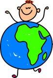африканский малыш Стоковые Фото