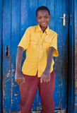 африканский мальчик Стоковое Изображение RF