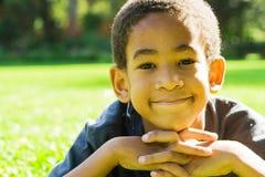 африканский мальчик Стоковые Фото