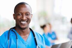 Африканский медицинский профессионал Стоковое Изображение