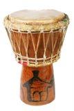 африканский оригинал барабанчика djembe Стоковые Изображения RF