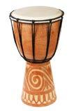 африканский оригинал барабанчика djembe Стоковая Фотография