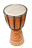 африканский оригинал барабанчика djembe Стоковая Фотография RF