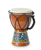 африканский оригинал барабанчика djembe Стоковые Фотографии RF