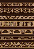 Африканский орнамент иллюстрация вектора