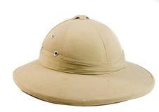 африканский охотник шлема стоковые изображения rf