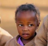 Африканский портрет девушки ребенка школьного возраста Стоковая Фотография