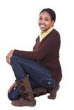африканский портрет девушки Стоковое Фото