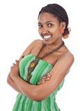 африканский портрет девушки Стоковые Изображения RF