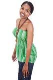 африканский портрет девушки Стоковая Фотография RF