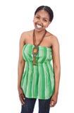 африканский портрет девушки Стоковое Изображение